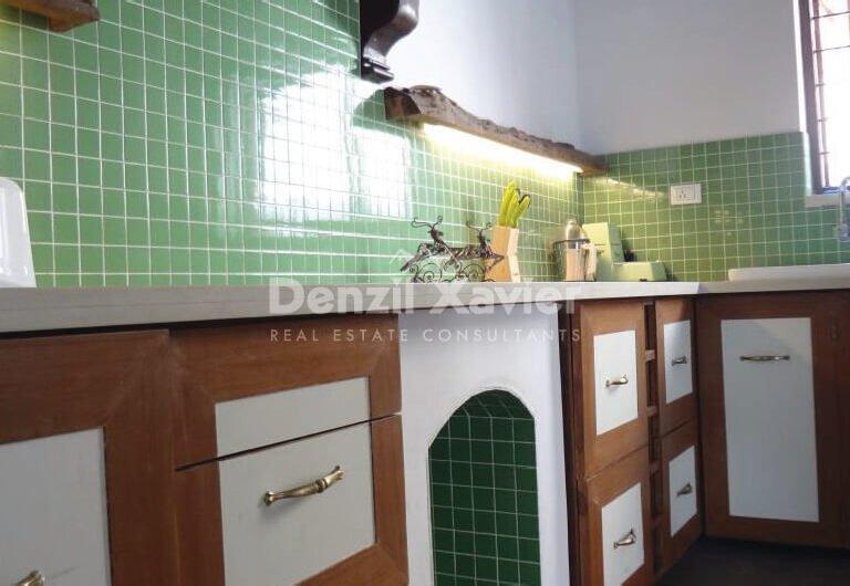 4BHK Goan Portuguese Villa in Sangolda for Long Term Rental